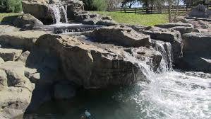 backyard waterfalls raleigh durham bellus terra water features