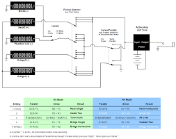 wiring diagram for hh hs switch and serial parallel switch