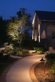 Outdoor Landscape Lighting Design - small landscape outdoor house with exterior landscape lighting
