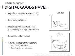 marginal costs ul u003e u003cli u003ehigh first copy costs fixed costs