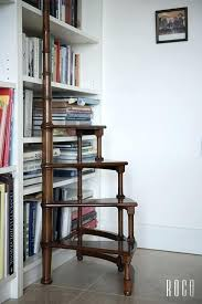 bookcase with ladder furniture billy bookcase hack with library