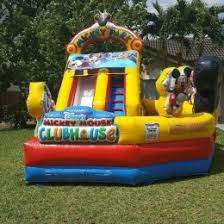mickey mouse clubhouse bounce house bounce house rental miami