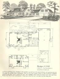 Antique House Plans Vintage House Plans 1970s New England Gambrel Roof Homes Part 2