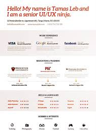 Online Resume Design by 8 Best Resumes Images On Pinterest Cv Design Resume Ideas And