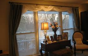 Window Treatment Ideas For Bay Decor Bay Window Treatment Ideas Decorating Tips Beguiling Bay