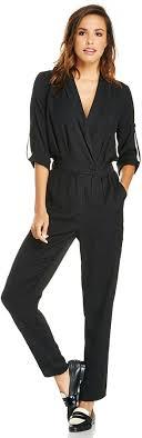 s sleeve jumpsuit billie sleeve jumpsuit in black s m where to buy