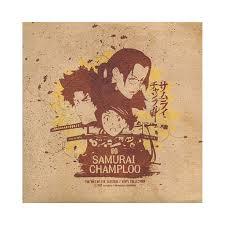 samurai champloo various artists samurai champloo the way of the samurai vinyl co