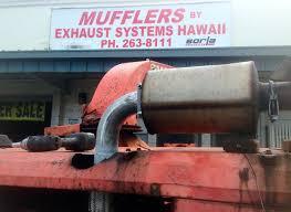 car junkyard honolulu exhaust systems hawaii exhaust systems kailua hi