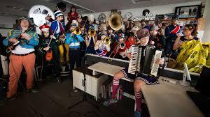 Small Desk Concerts Mucca Pazza Npr Tiny Desk Concert