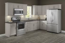 grey finish kitchen cabinets cardell concepts 19 l kitchen cabinets only at menards