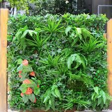 1 sqm ornamental garden fence artificial greenery plants fence