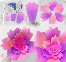 membuat hiasan bunga dari kertas lipat ide dan cara membuat hiasan dinding berbentuk bunga dari kertas