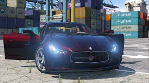 maserati night maserati ghibli s gta5 mods com