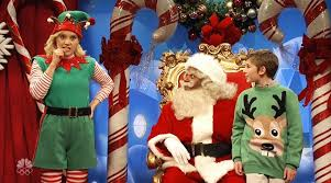 Seeking Santa Claus Cast Asking About Santa S List Goes The Rails On Snl