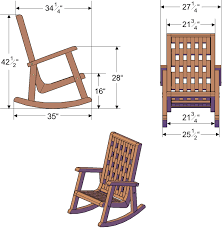rocking chair dimensions modern chairs design