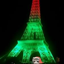 eiffel tower christmas lights eiffel tower park parks 1020 maurice fields dr paris tn
