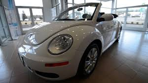2010 volkswagen new beetle convertible droptop stk 3726a for