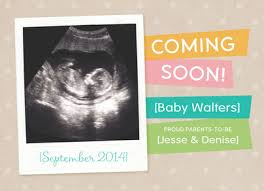 baby announcement cards coming soon baby announcement pregnancy announcement cardstore