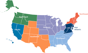 Map Of Southeastern States by Chp Technical Assistance Partnerships Chp Taps Department Of