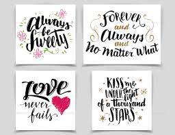 brush lettering quotes and phrases by stockillustrator