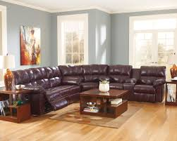 plush sectional sofas living room elegant ashley leather sectional sofa for comfortable