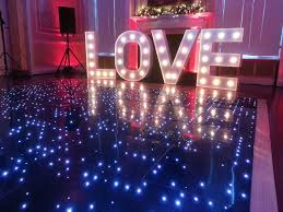 disco rental led floor hire great for weddings disco and events
