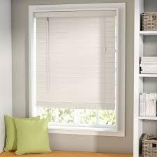 Solar Venetian Blinds Symple Stuff Room Darkening White Venetian Blind U0026 Reviews Wayfair