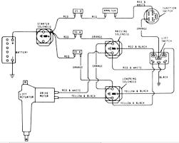 wiring diagram for deere 112 series number307908m