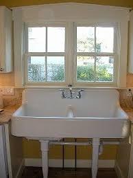 Cast Iron Kitchen Sinks by 1930s Kohler Cast Iron Farmhouse Sink 42 X 20 8 Inch Back