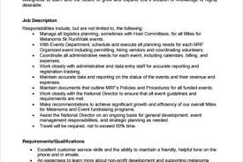 Event Coordinator Job Description Resume by Event Coordinator Resume 9 Download Documents In Pdf Sample