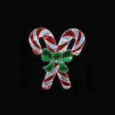 Candy Cane Outdoor Decorations Candy Cane Outdoor Christmas Light Displays You U0027ll Love Wayfair