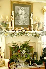 726 best christmas fireplaces images on pinterest christmas