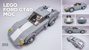 lego speed champions lamborghini lego ford gt40 classic moc based on speed champions 75881
