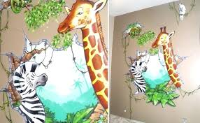 mur chambre enfant decoration murale pour chambre bebe enfant dans les tons gris 25