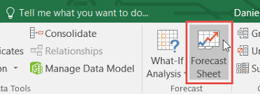 Demand Forecasting Excel Template by Create A Forecast In Excel 2016 For Windows Excel