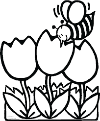 coloring pages for kids flowers flower page throughout to print