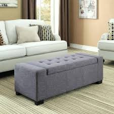 coffee tables grey velvet storage ottoman fabric coffee table