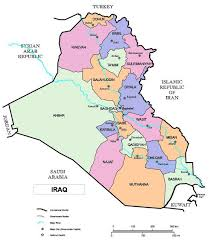 map of basra map of iraq iraqpictures org
