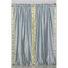 3 Inch Rod Pocket Sheer Curtains Amazon Com Maroon 84 Inch Rod Pocket Sheer Sari Curtain Panel