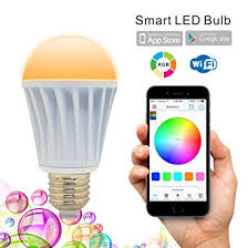 flux wifi smart led light bulb works with smartphone