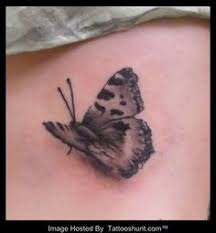 black and grey butterfly best design tattoos