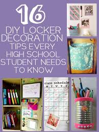high school stuff 16 diy locker storage and decoration tips and tricks every high