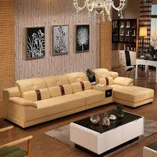 Inexpensive Leather Sofa Online Cheap Modern Genuine Leather Sofa In Sofa Furniture Living