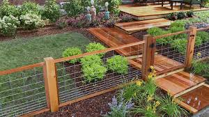 Garden Walls And Fences by Fence Designs U0026 Installation Hgtv