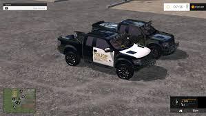 Ford Raptor Farm Truck - f150 raptor police interseptor v1 0 car farming simulator 2017