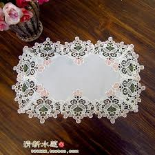 beautiful table cloth design zkka design handmade crochet tv cabinet cover chinese style