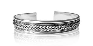silver weave bracelet images Sterling silver bangles stylish designs alfred co jewellery jpg