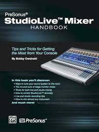 Mixing Table Presonus Studiolive Mixer Handbook Table Of Contents