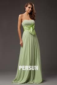 robe pour mariage invitã e robe soirée verte pour mariage bustier vague avec ceinture ornée