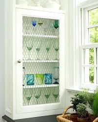 Chicken Wire Cabinet Doors Wire Mesh Panels For Cabinet Doors Antique Wire Mesh Inserts